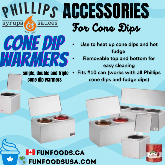 Cone Dips and Cone Dip Warmers Canada