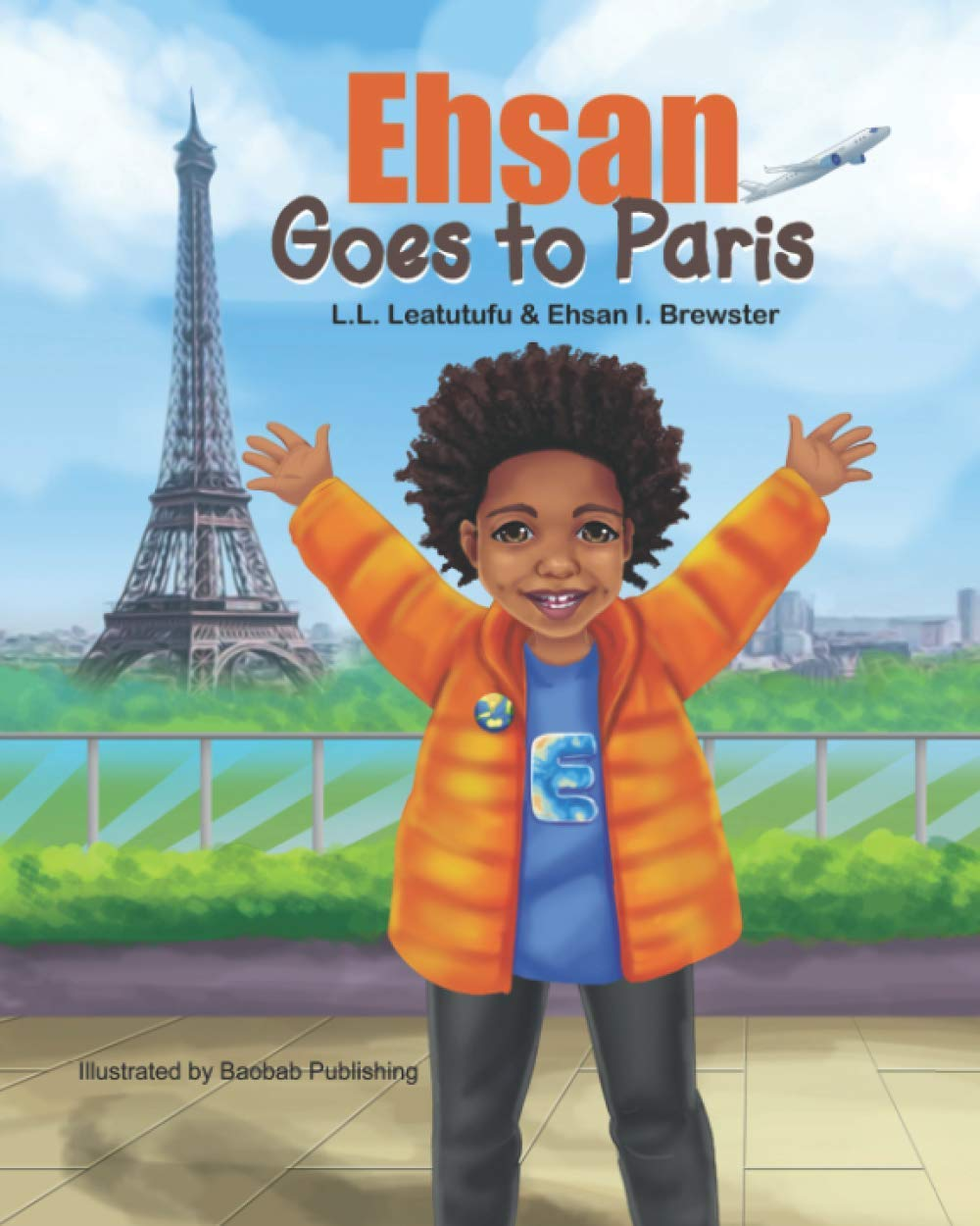 Ehsan Goes To Paris Book Cover
