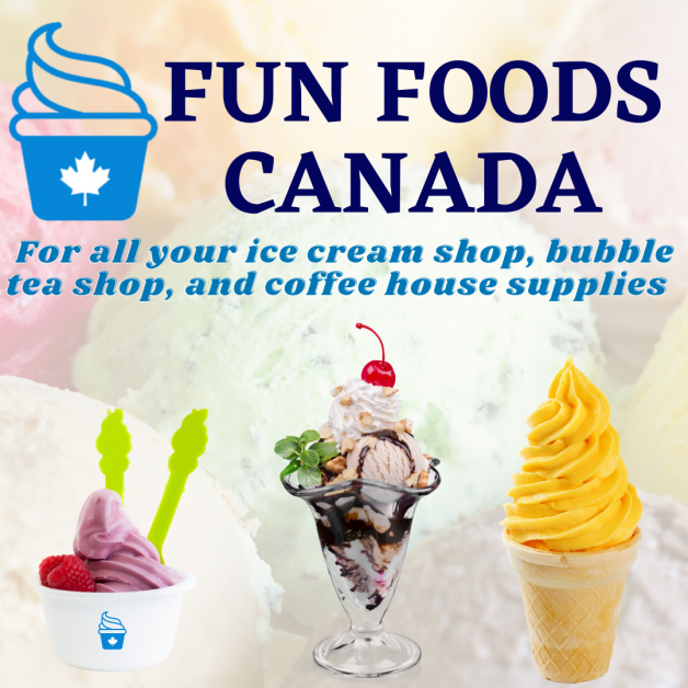 Fun Foods Canada Ice Cream Cafe Supplies