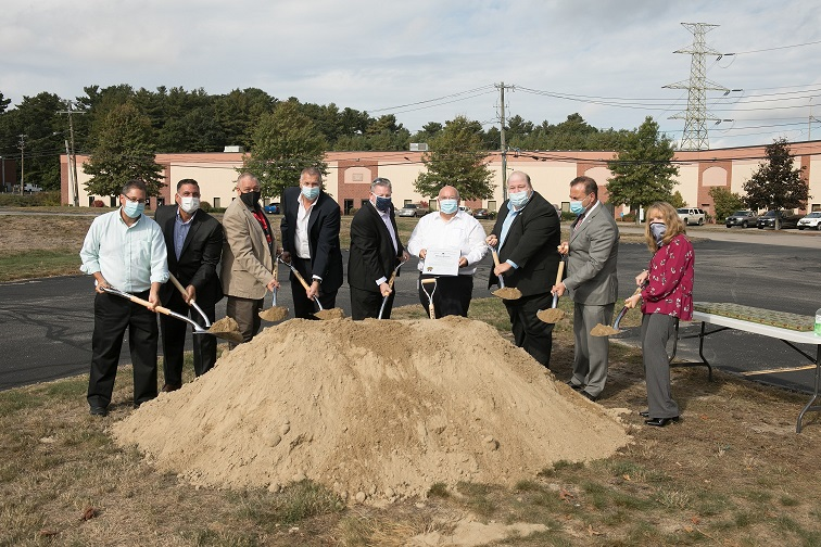 Ground Breaking Acumentrics Group Photo