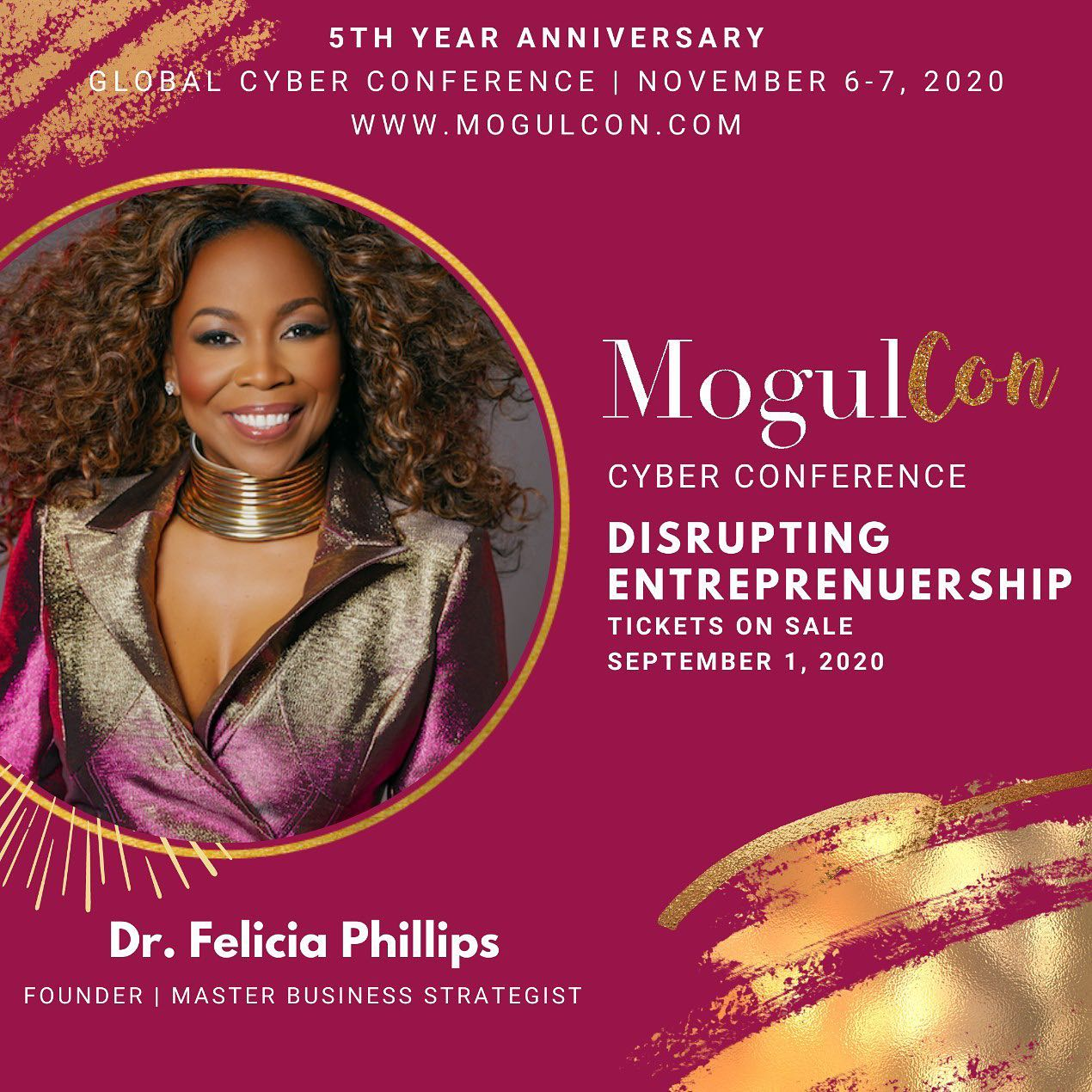 Mogulcon Event Flyer With Felicia