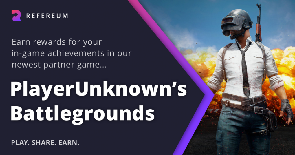 PUBG and Refereum announcement