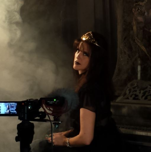 Queen of Haunts filming