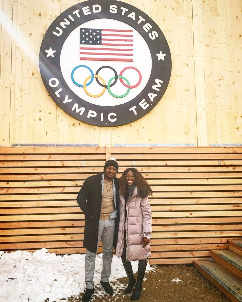 Richard Thorpe, Lila Brown at the Winter Olympics